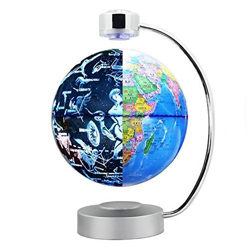 Sweet Globus Beleuchtet Led 3D-Karte Der Magnetschwebetechnik Touch-Schalter 360 ° -Drehung Geeignet Für Die Dekoration Und Büro Home Interior