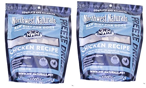 Northwest Naturals 2 Pack of Chicken Freeze-Dried...