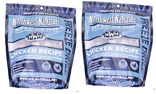 Northwest Naturals 2 Pack of Chicken Freeze-Dried...