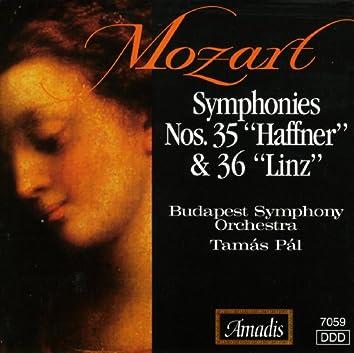 """Mozart: Symphonies Nos. 35, """"Haffner"""" and 36, """"Linz"""""""