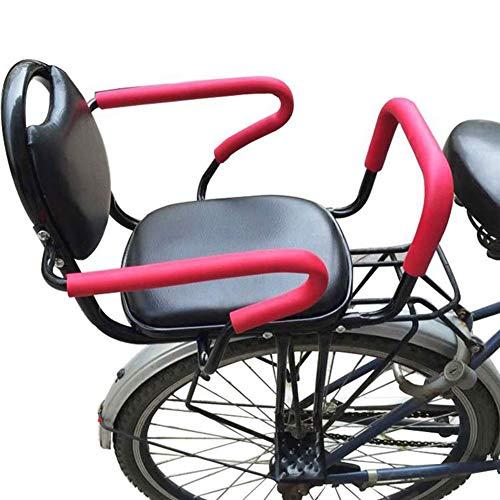 JMYSD Kinderfahrradsitz Metallfahrrad Kindersitz Mit Armlehne Und Pedal