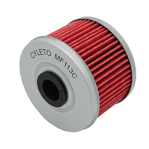 Cyleto Ölfilter für XL125V XL125 V VARADERO 125 2001 2002 2003 2004 2005 2006 2007 2008 2009 2010 / XL125V VARADERO DE LUXE 2011