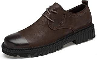 Men's Business Oxford Casual New Style Low Top Classic Fashion Outdoor Flabby And Cotton Warm Conventional Shoes(Conventional optional) casual shoes (Color : Brown, Size : 39 EU)