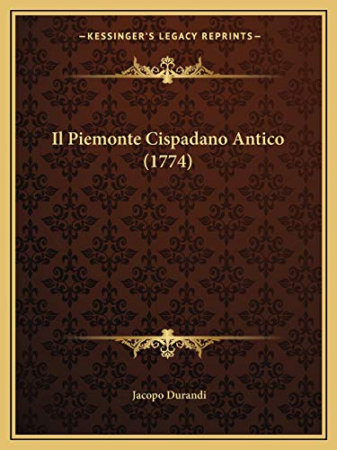 Piemonte Cispadano Antico (1774)