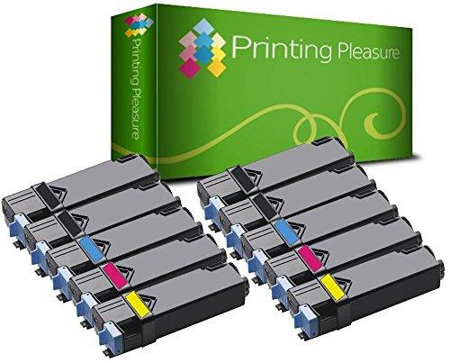 10er Set Premium Toner kompatibel für Xerox Phaser 6500DN, 6500N, WorkCentre 6505DN, 6505N