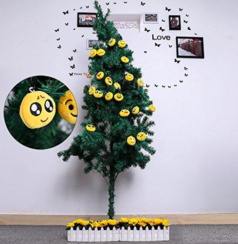 51zca32lMoL - QH-Shop Emoji Llavero,Emoción Llavero 6cm Mini Regalo de Relleno de Juguete para Coche Mochila Fiesta Favores Decoración…