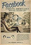 KE OU Werbung Facebook Frau Tisch Metal Iron Poster