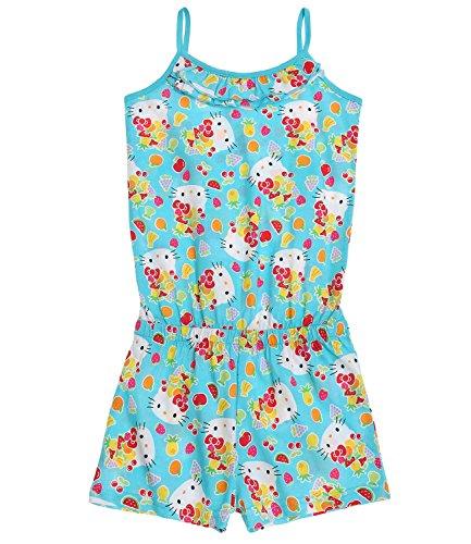 Hello Kitty Mädchen Jumpsuit - blau - 104