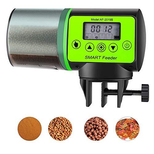 Winbang Alimentatore per Acquario, Alimentatori Automatici da 200ml per Acquario