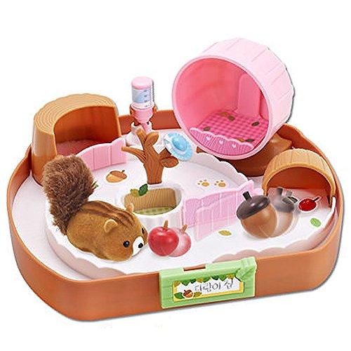 Mimi World Mimiworld Rollen Eichhörnchen Haus Mit Eichhörnchen Puppe Spielzeug Playset Darame Haus /