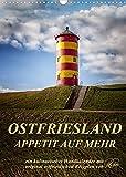Ostfriesland - Appetit auf mehr/Geburtstagskalender (Wandkalender 2022 DIN A3 hoch)
