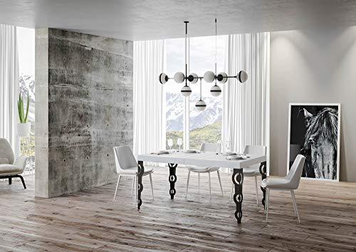 Itamoby, Mesa Karamay Fix blanca fresno 90 x 180 cm fija