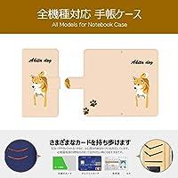 F.G.S Google Pixel 3a XL ケース 手帳型 グーグル ピクセル3a XL カバー おしゃれ かわいい 耐衝撃 花柄 人気 純正 全機種対応 秋田犬 アニマル 12500986