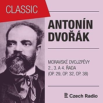 Antonín Dvořák: Moravské dvojzpěvy (2., 3. a 4. řada)