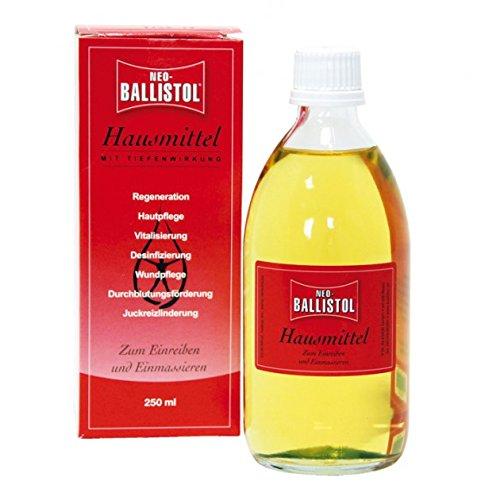 Ballistol Hausmittel 250 ml Massageöl Hautpflege-Öl Wundpflege entspannend juckreizlindernd 1101