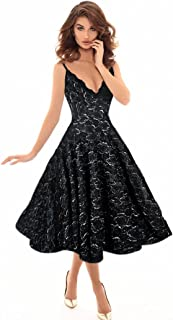 Special occasion dress, black color, one size, for women - 2725609682676