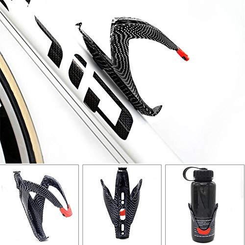ATpart Soporte para botellas de bicicleta, portabidón de aluminio ligero para bicicletas Portabotellas para bicicletas Soporte para vasos de bicicleta