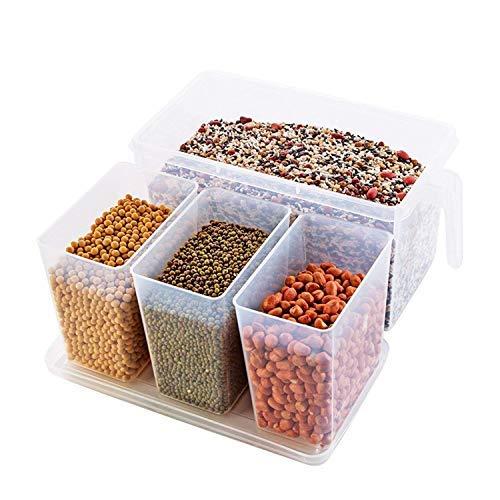 Kitchen Plastic Refrigerator Freezer Food Storage Basket Bathroom Desktop Drawer Organizer Container...