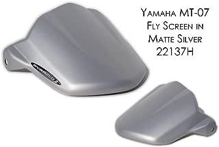 Yamaha MT07 / FZ07 Fly Screen: Matt Silver 22137H
