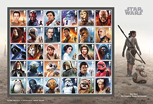 Star Wars Complete Stamp Collection Souvenir