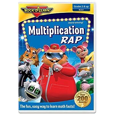 Multiplication Rap DVD by Rock 'N Learn
