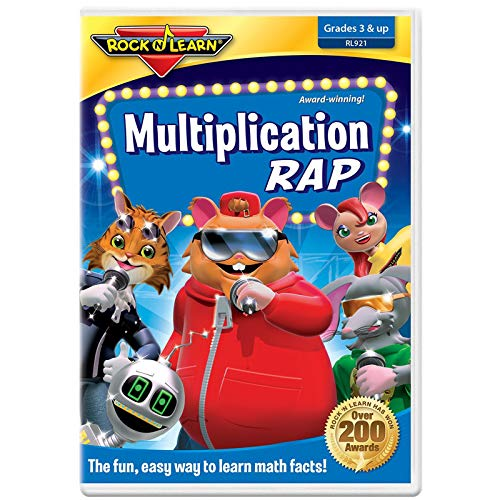 Multiplication Rap DVD by Rock '...