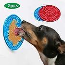 ZISHEN Dog Lick Pad Dog Bath Peanut Butter Lick Pad Slow Feeder Dog Mat for Pet Bathing, Grooming, and Dog Training
