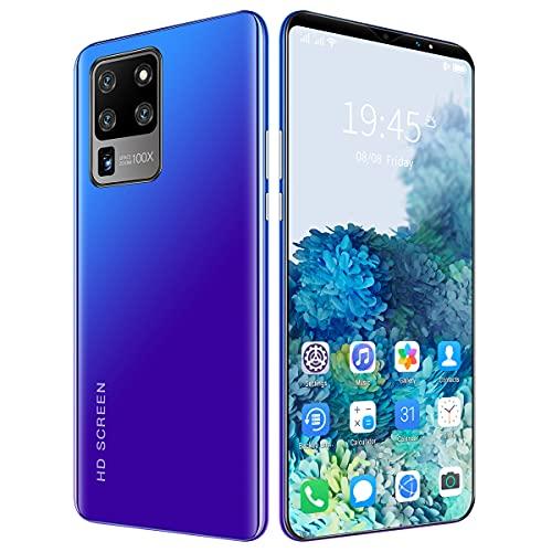 GYUO Smartphone, 5G desbloqueado Android teléfono celular, edición internacional 6.1 pulgadas Smartphone, cámara Pro-Grade High Res 13MP+24MP, 8GB+128GB, teléfono adecuado para...