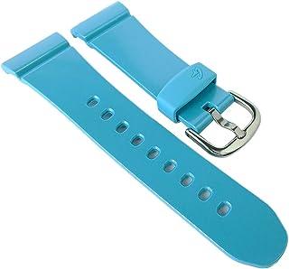 Casio Baby-G Correa de repuesto para reloj de pulsera de resina turquesa para BG-6903-2ER