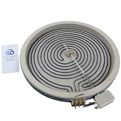 Supplying Demand WB30T10130 Element Haliant 12' Glass Stove Top Surface Element Compatible With GE