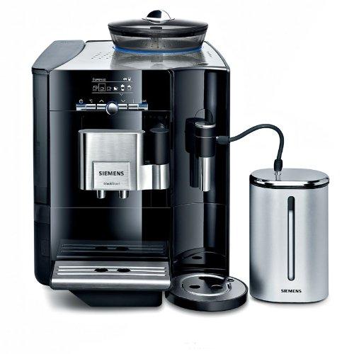 Siemens TE706519DE Espresso-/koffiezetapparaat EQ.7 Plus/Stiftung Warentest GUT (12/2010) / pianolak-zwart