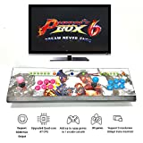 2 player 16GB Pandora Box 6 1300 in 1 arcade game console Can add game HDMI VGA usb joystick for pc video fighting game ps3