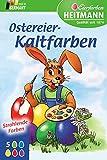 Färbetabletten für Ostereier, Kaltfarben, Eierfarben, 5 Farben für Ostern