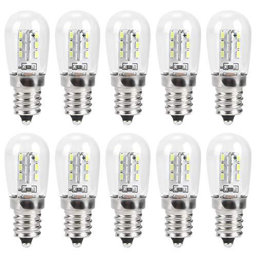 Bombilla para máquina de Coser, Bombillas E12, Lámpara para máquina de Coser, Protección del Medio Ambiente, Ahorro Ergy, para luz led para máquina de Coser