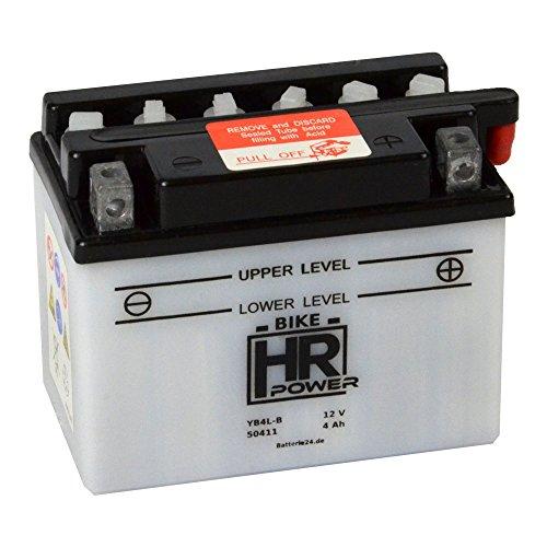 Motorrad Batterie Starterbatterie 12V 4Ah YB4L-B 50411
