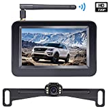 HD Wireless Backup Camera with 4.3 Inch TFT Monitor Kit, Stable Signal...