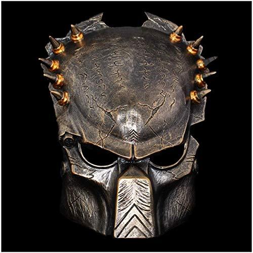 1yess Halloween Maske Halloween-Maske Wolf Dekoration Helm Cospaly Harz Mode Gutaussehend