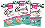 Cocomels Coconut Milk Caramels, Sea Salt Flavor, Organic Candy, Dairy Free, Vegan, Gluten Free, Non-GMO, No High Fructose Corn Syrup, Kosher, Plant Based, (3 Pack) by Cocomels
