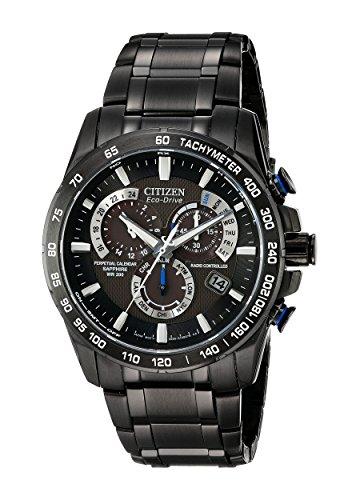 Citizen Herren Analog Quarz Uhr mit Edelstahl Armband AT4007-54E