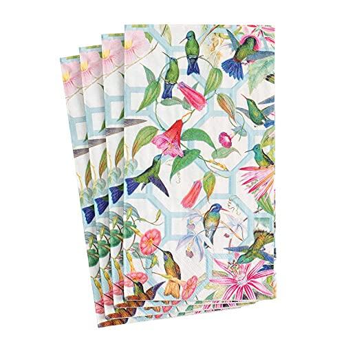 Caspari Disposable Hand Towels, Decorative Paper Guest Towels for Bathroom...