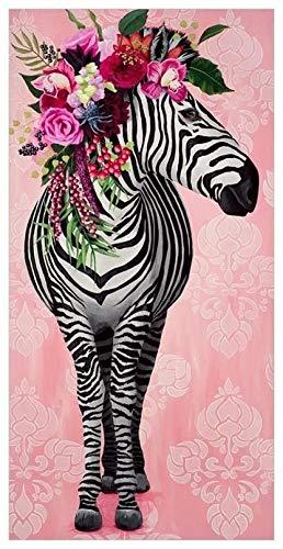 leomuzi Jigsaw 1000 Pezzi FL Zebra Puzzle in Legno Perfetto per Adulti risolvi Il Puzzle-Wooden