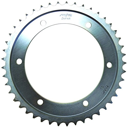 Sunstar Silver 2-250245 Rear Sprocket Steel 45T