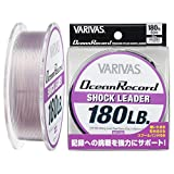 VARIVAS(バリバス) リーダー オーシャンレコードショックリーダー ナイロン 50m 50号 180lb ミスティーパープル