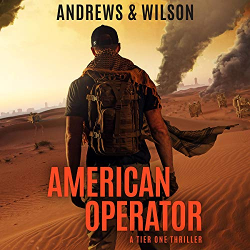 American Operator audiobook cover art