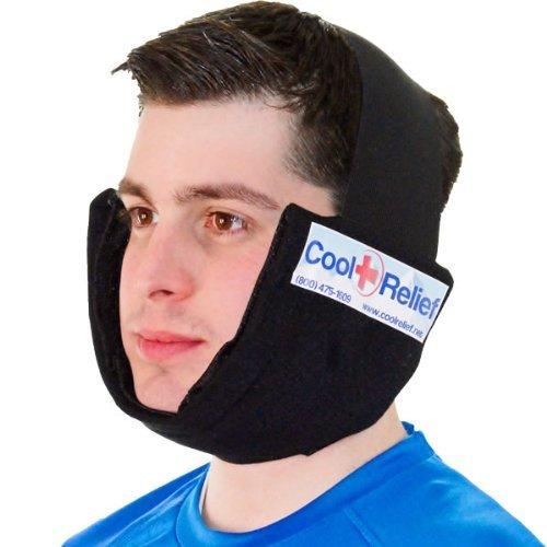 Cool Relief Soft Flex-Ice Jaw - Bolsa de hielo con relleno de frío