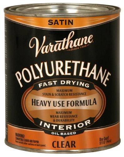 Rust-Oleum 9141H Oil Polyurethane, 1 Quart, Satin Finish