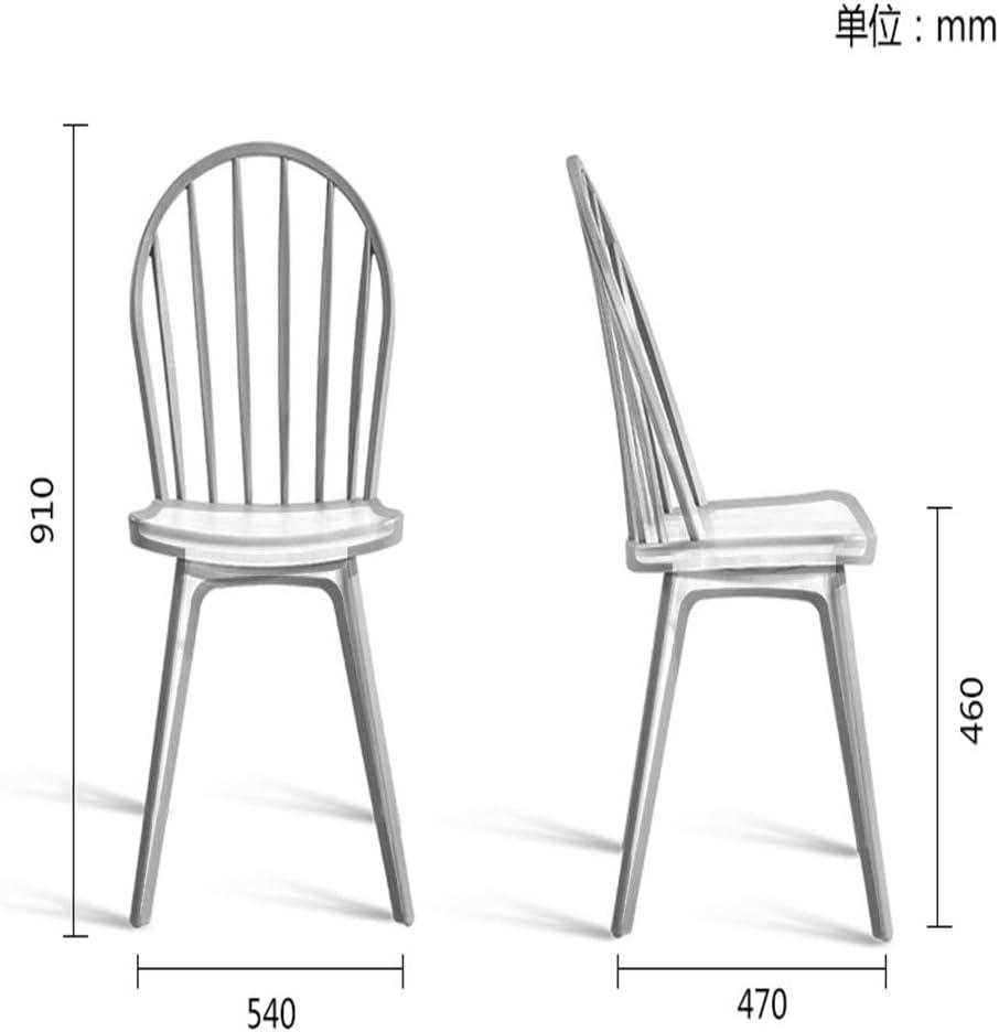 XINHXHE Chaise - Chaise Minimaliste Moderne créative européenne, café, Salle à Manger, Salon, Chaise de Mode créative décontractée (Taille 910X540mm) Chaise (Color : Red) Green