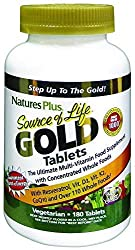 GOLD STANDARD: Our formula is the GOLD STANDARD for whole food-based multivitamin supplementation. Source of Life provides more energizing, antioxidant, and anti-aging power then ever before and retains high quality and guaranteed potency. SPECIAL IN...