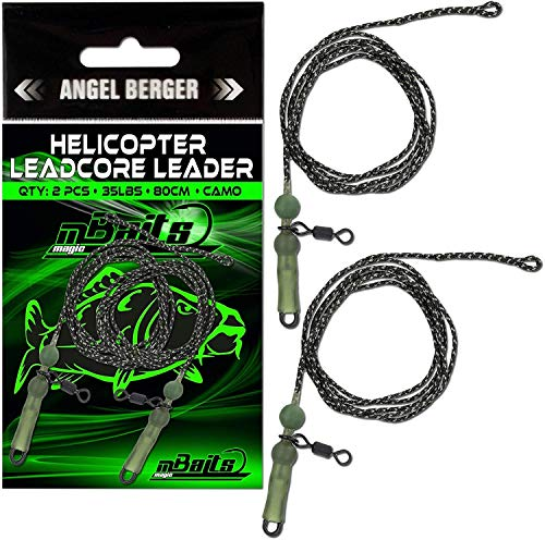 Angel-Berger Magic Baits Helicopter Leadcore Leader Karpfenmontage Carptackle