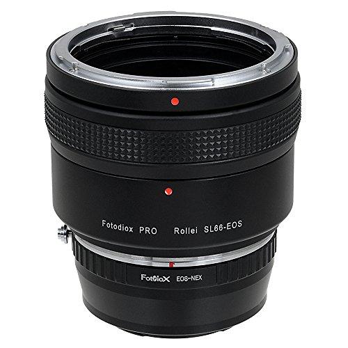 Fotodiox Pro Adaptores de Objetivo, Lentes Rolleiflex SL66 (Rollei SL66E, SL66X, SL66SE)...